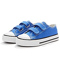 Weestep Toddler/Little Kid Boy and Girl Classic Adjustable Strap Sneaker