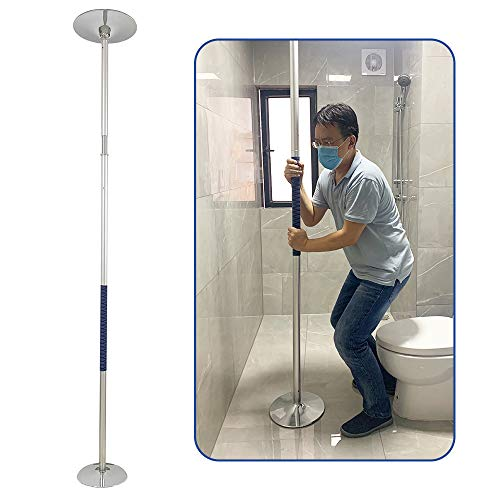Security Pole Handicap Grab Bars Shower for Seniors Bed Assist Bar Floor to Ceiling Transfer Pole Toilet Safety Rails Bathroom Grab Bars Bathtub Handle Hand Rails Shower Support Standing Poles