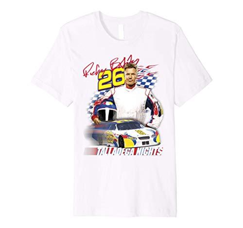 Talladega Nights Ricky Bobby Wonder Bread Race Car Portrait Premium T-Shirt