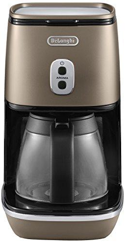De'Longhi ICMI 211.BZ DISTINTA Filterkaffeemaschine, Metallic