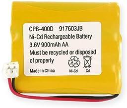 Empire Cordless Phone Battery, Works with GE 5-2459 Cordless Phone, (Ni-CD, 3.6V, 900 mAh) Ultra Hi-Capacity Battery