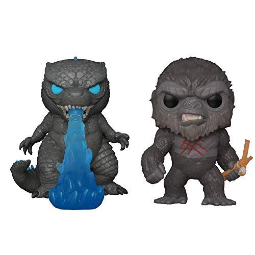 Godzilla vs Kong giocattolo,Kong con ascia da battaglia,Godzilla respiro di fuoco,5 pezzi Action Figure Carino Decorazioni Regali per i fan del film Kid Adult-Godzilla_vs_Kong