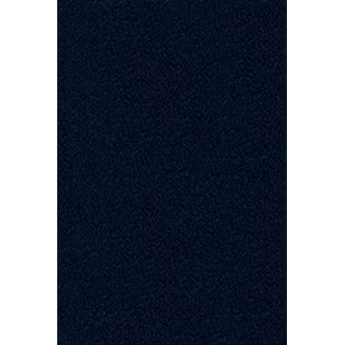 Ambiant Pet Friendly Solid Color Navy 2'X3' - Area Rug
