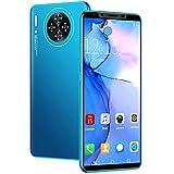 GAOword Smartphone Barato Teléfono móvil de la Pantalla Grande de 5,8 Pulgadas de 5,8 Pulgadas RAM + 64GB ROM Tarjeta Dual Dual Soporte de Espera Dual Soporte WiFi y expansión de la Memoria,Azul