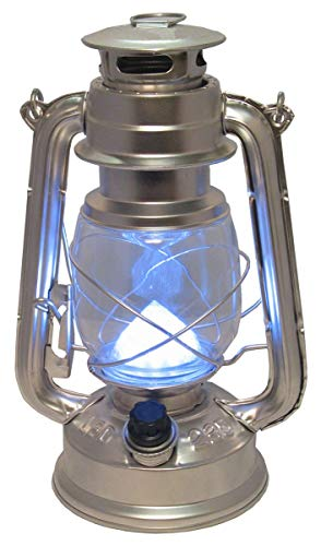 Lámpara led para Camping y Exteriores. Luz/Farol/Candil portátil de acampada para uso exterior. Funciona a pilas. - Nuevo en Amazon