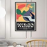 N/A Wandbilder Dekoration Klassische Wilco Musik Gig