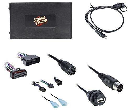Metra Saddle Tramp BT-HD01 Radio Bluetooth Kit Compatible with Harley Davidson 2006-2013 Select Model Motorcycles