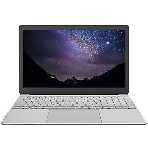 15,6 Zoll Laptop, Notebook,Computer PC,J4115/J4125 Quad Core CPU, Windows 10 Pro Betriebssystem, 1920X1080 Mattdisplays, 8 GB RAM, 128 GB ROM(Erweiterbarer Speicher 1 TB SSD), Tragbarer Gaming Laptop