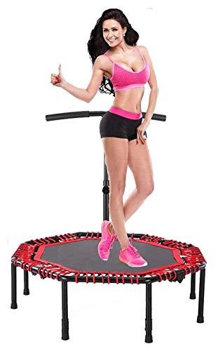 WERTYG El Ejercicio aeróbico Fitness Plegable Mini trampolín/Cama elástica elástico Rebounder/Cubierta Trampolines...