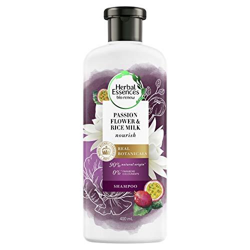 Herbal Essence Bio:Renew Shampooing nourrissant Fleur de passion et lait de riz 400 ml