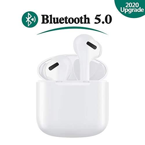 luetooth Kopfhörer, Touch In Ear Kabellos Sport Kopfhörer Bluetooth 5.0 Headset Noise Cancelling Ohrhörer mit Mikrofon und 3D Stereo