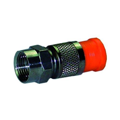 Homeway HW-KPHQ-Stecker HAXHSS-00000-KPHQ Kompressionsstecker Koax-Steckverbinder 4250679720334