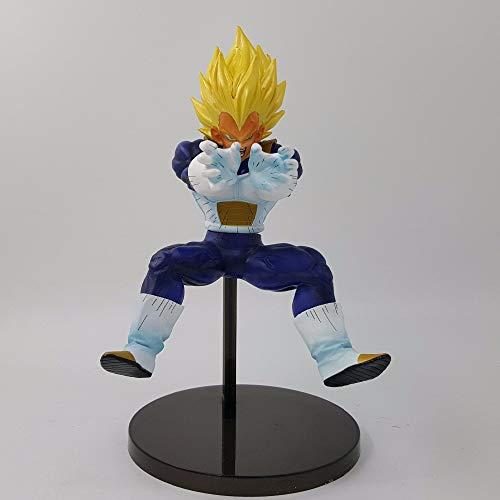 CLEARNICE Dragon Ball Z Vegeta 220Mm PVC Figura De Acción Dragon Ball Super Vegeta Final Flash Figurita Juguetes Super Saiyan DBZ