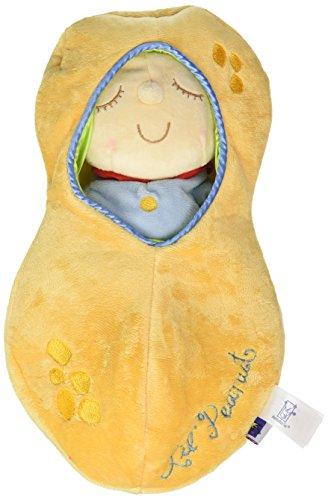 Manhattan Toy Snuggle Pod Lil 'Peanut First Baby Doll met gezellige slaapzak voor leeftijd vanaf 6 maanden