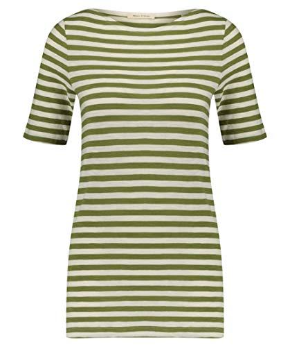 Marc O\'Polo T-Shirt, Short-Sleeve, Boat-Neck, s, Kombi(bmultisunnylime (52)), Gr. M