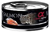 Alpha Spirit Feline Adult Salmon - Lata 85 g