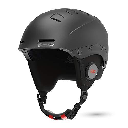 Smart4u Smart Ski Helmet SS1 with Bluetooth Ski & Snowboard Helmet,IPX4 Waterproof,Listen to Music