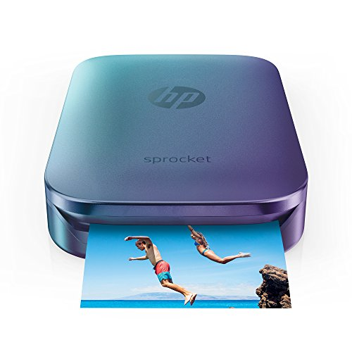 Save 40 on HP Blue Sprocket Portable Photo Printer, Print Social Media...
