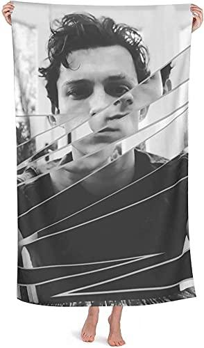 NIUPEE Toalla de playa de microfibra Tom Holland, toalla de baño para niña Spider-Man, microfibra de secado rápido, cumpleaños para fanáticos femeninos-Tom Holland4.