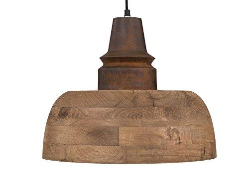 Massivum Hängeleuchte Holz E27, 40 W, braun 40 x 40 x 33 cm
