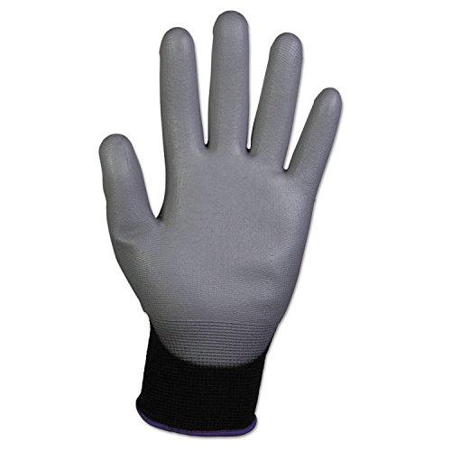 Kimberly Clark 38726 Jackson Safety G40 Polyurethanbeschichtete Handschuhe, Handspezifische Paare, Grau/Schwarz (12-er pack)