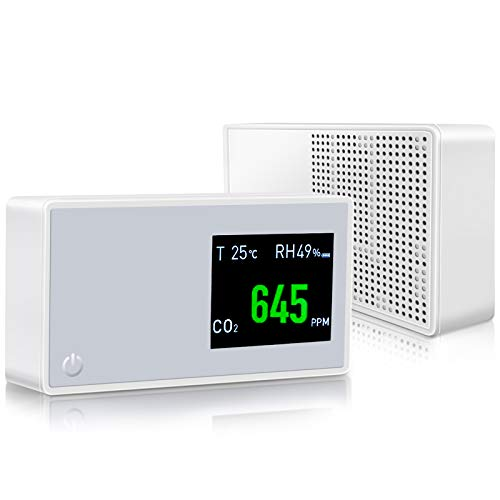 Indoor Room Air Quality Tester CO2 Gas Analyzer Detector Monitor Meter Carbon Dioxide Infrared (NDIR) Sensor 400-5000ppm