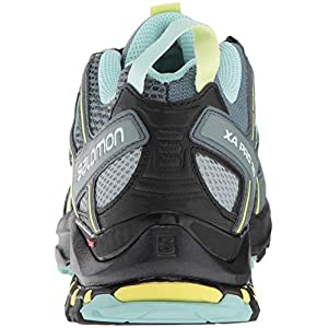 Salomon Women's XA Pro 3D Trail Running Shoes, Stormy Weather/Lead/Eggshell Blue, 5 B US