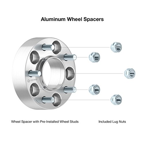 "20MM 3//4/"" Hubcentric Wheel Adapters For Infiniti Q50 Q60 Q70 5x114 66.1 12x1.25"