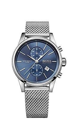 Hugo Boss Men's Chronograph Quartz Watch with Stainless Steel Strap