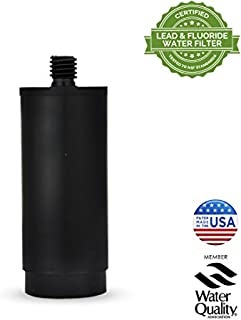 Aquagear Straw Cap Replacement Filter Klean Kanteen/HydroFlask Straw Cap - Removes Chlorine, Fluoride, Lead - BPA-Free 75 Gallon Filter Capacity