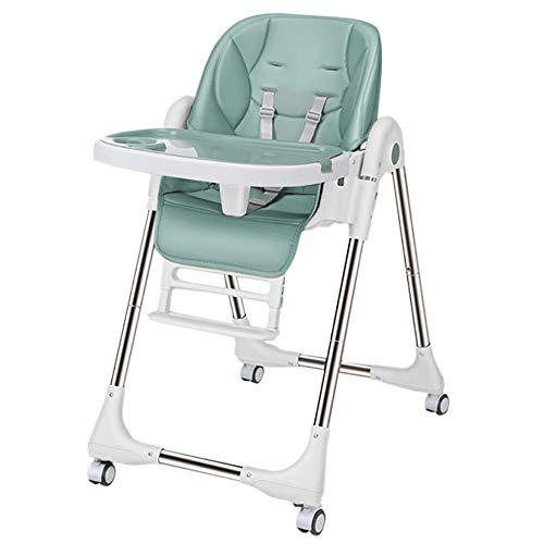 petit un compact Chaise bébé LBLA Chaise bébé, à roulettes, réglable et pliable, avec dossier réglable pour bébé…
