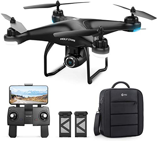 Holy Stone HS120D GPS Drone with 2K UHD Camera for Adults, FPV Quadcotper...
