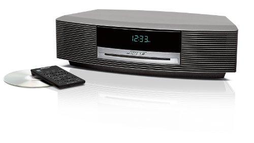 Bose Wave Music System Radio/CD II - Platinum White (Silver)