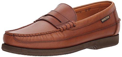 Mephisto Men's Cap Vert Penny Loafer Rust Leather 44 (US Men's 10)