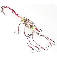 Soytich Feed Bin comederos señuelo de Pesca alimentador de natación 10Leader-Hook Carp (feeder02)