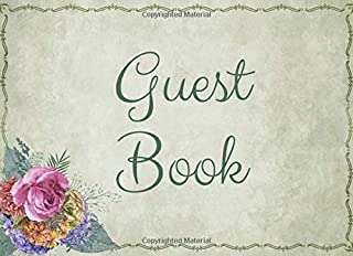 Guest Book: Comment sign in or book for all kinds of special occasions. Portable compact keepsake for events, celebrations and parties.