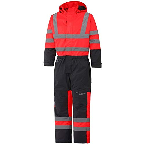 Helly Hansen Mens Alta Insulated Waterproof High-Vis Workwear Overall