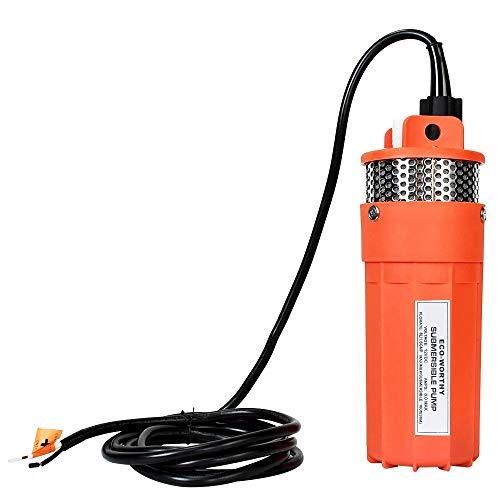 ECO-WORTHY - Bomba de agua para pozo (12 V, 30 m sumersión