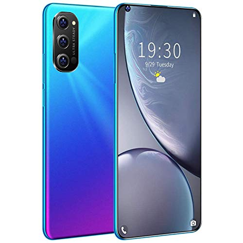 "XIYEE Rino4 Pro Mobile Phone,Unlocked Android Smartphone, with 7.3"" Dot Display, with 5G Dual SIM and 48MP HD Rear Triple Camera, 5600mAh Battery, Face ID"