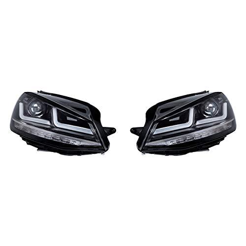 Osram Ledriving Golf 7 LED Scheinwerfer, Chrome Edition als Halogenersatz zur Umrüstung auf LED, LEDHL103-CM, für Linkslenkerfahrzeuge (1 Komplett-Set)