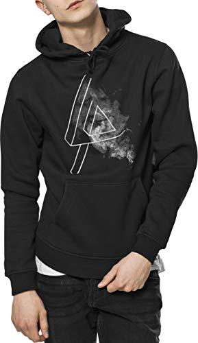 MERCHCODE Herren Linkin Park Logo Hoody Kapuzenpullover, Black, S