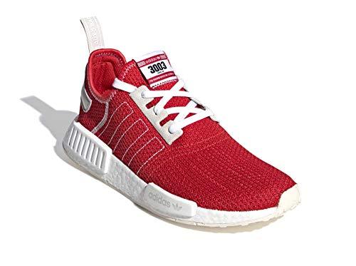 adidas Herren NMD_r1 Gymnastikschuhe, Rot (Active Red/Active Red/Ecru Tint S18 Active Red/Active Red/Ecru Tint S18), 43 1/3 EU