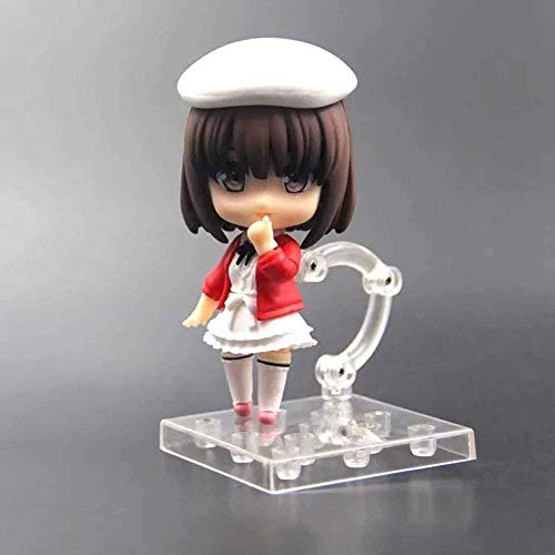 LJUCTD Saenai Heroine No Sodate-katas Katou Megumi Nendoroid Q Disfraz de Actriz Ver. Figura de accin de PVC Juego de Personajes de Dibujos Animados de Anime Modelo Estatua de Juguete