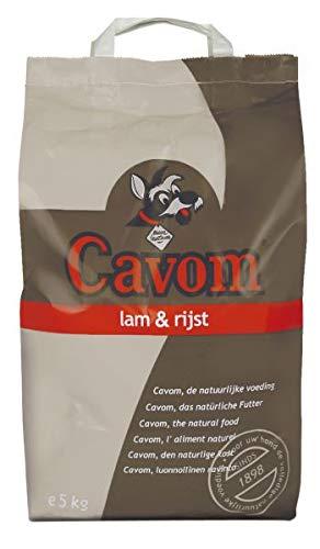 5 KG Cavom compleet lam/rijst hondenvoer