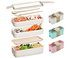 GET BENTO JAPANESE LUNCH BOX: Your own way to boost your lifestyle, energy and health. All will be longing at your toddler lunchbox from the first moment they see it. Bright, functional and sharp design, rooted in minimalist Korean lunch-box traditio...