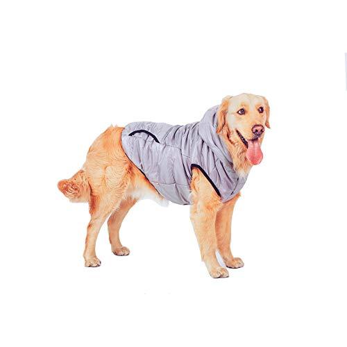 Ropa mascotas Escudo perrito caliente capa perro invierno