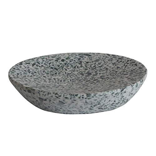 Kaizen Casa Soap Dish, Soap Dish for Shower, Bathroom, Sink Bathtub Dish, Soap Tray, Soap Case, Holder for Sponges Hand Soap Dish Raisen (12.7cm X 9.90cm X 2.54cm)