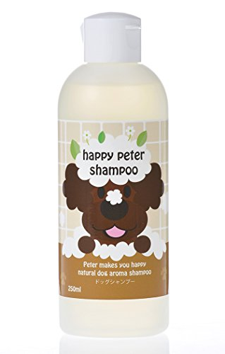 HappyPeter Emu Oil Dog Shampoo | Organic Pup and Poodle Grooming Pet Wash w/Tea Tree Lavender Odor Control | Professional Dog Grooming Formula for Healthy Coat and Skin – 8.5 Oz