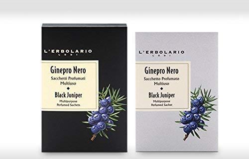 L'Erbolario Noir Juniper Multi-Usage Parfumé Sachets