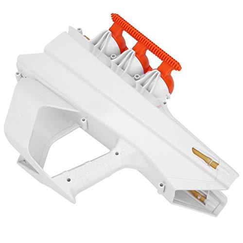 Fabricante de Bolas de Nieve, Pistola de Lanzamiento de Bolas de Nieve con diseño de Mango, Bolas de Nieve de plástico para lanzar Bolas de Nieve para niños y Adultos((White))